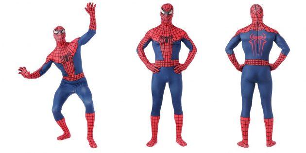 Костюмы на Хеллоуин: Человек-паук