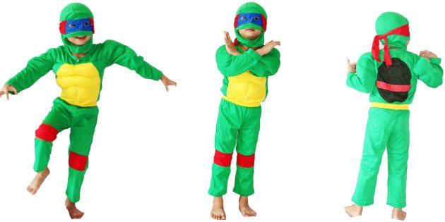 костюмы на Хеллоуин: черепашка-ниндзя