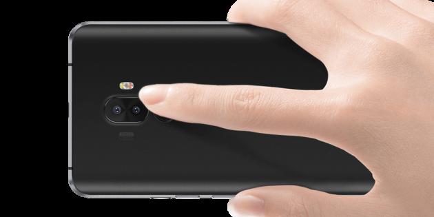 Ulefone S8 Pro: сканер отпечатков