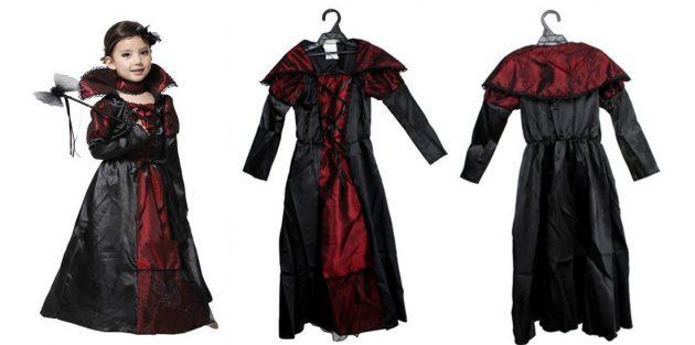 Костюмы на Хеллоуин: принцесса вампиров