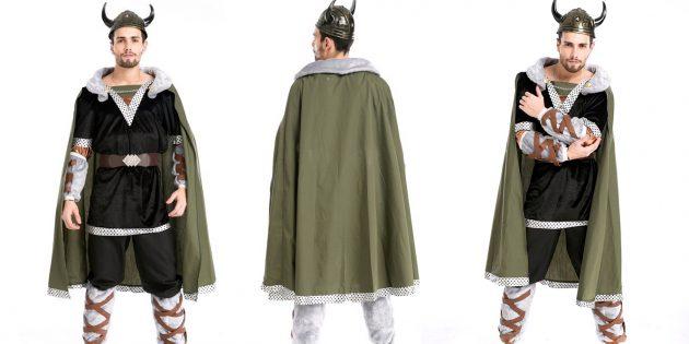 костюмы на Хеллоуин: викинг