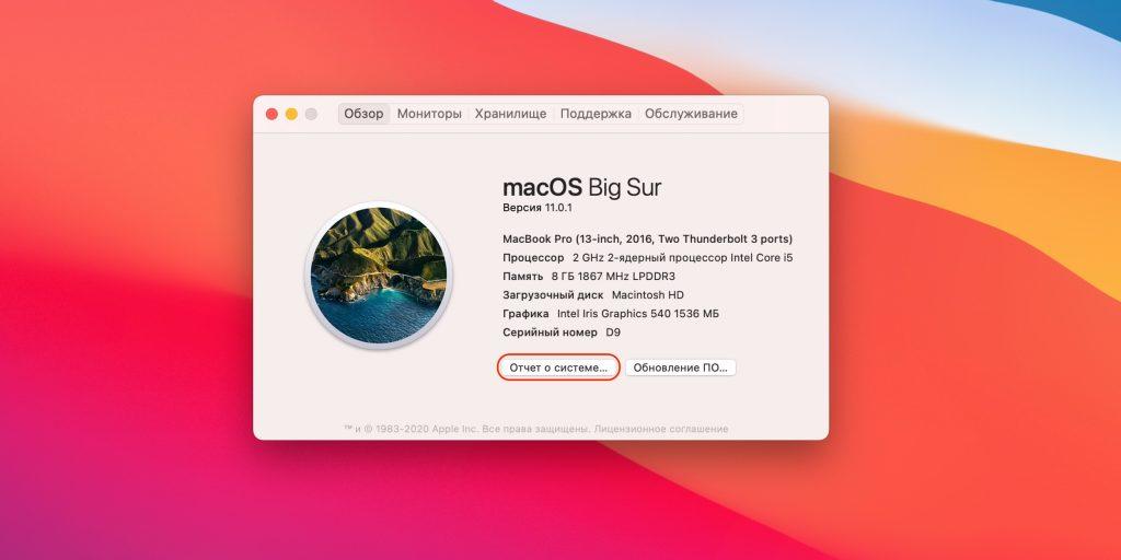 Компьютер не видит жёсткий диск: нажмите кнопку «Отчёт о системе»