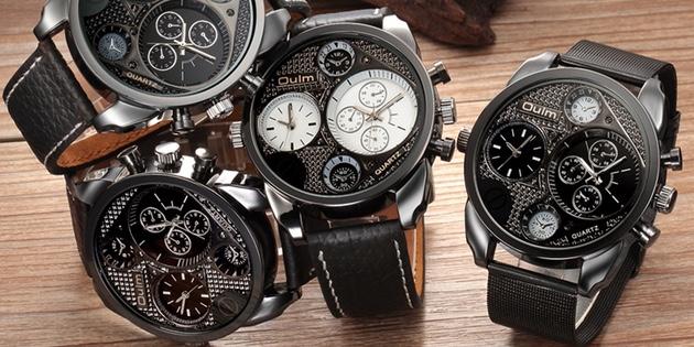 часы с несколькими циферблатами 4