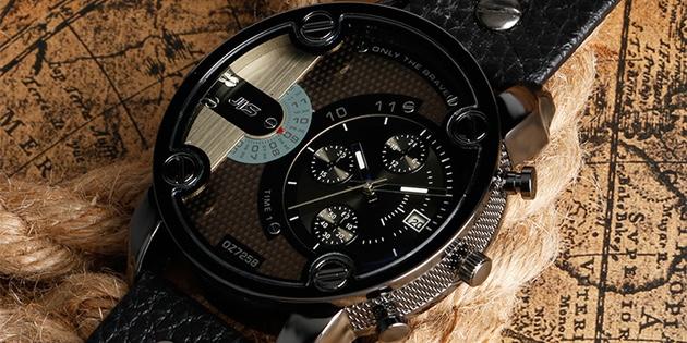 часы с несколькими циферблатами 2