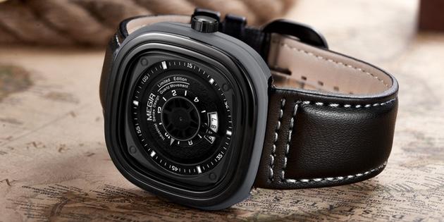 классические часы 10