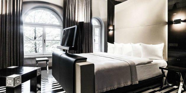 Футуристичный отель, Польша