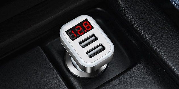 Автомобильный зарядник