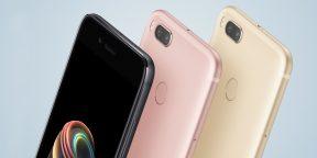 Xiaomi Mi A1 — первый смартфон компании с чистой версией Android