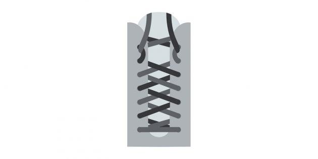Как завязывать шнурки, если болят пятки