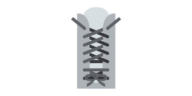 Как завязывать шнурки, если узкая пятка и широкая плюсна