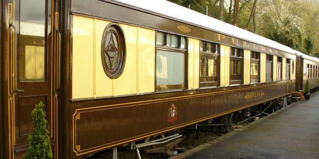 Отель-поезд, Великобритания