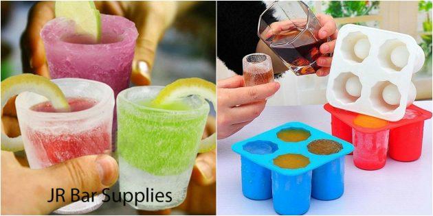 товары для вечеринки: Форма для ледяных шотов