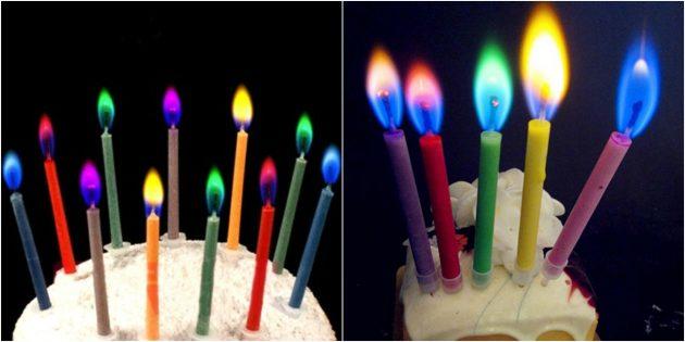 товары для вечеринки: Оригинальные свечи для торта