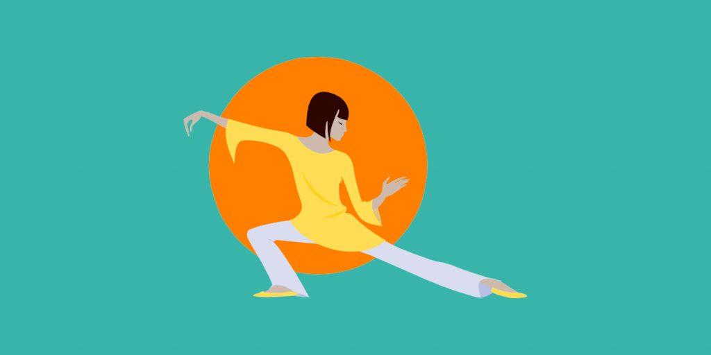 Гимнастика цигун для начинающих в картинках пошагово