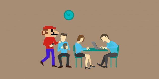 Чтобы избавиться от стресса на работе, 5 минут поиграйте в видеоигры