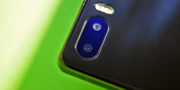 Bluboo S1: камера