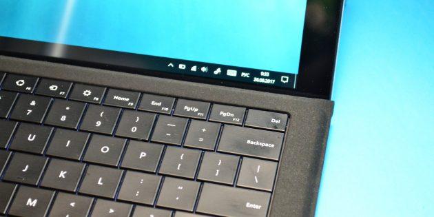Chuwi SurBook: клавиатура
