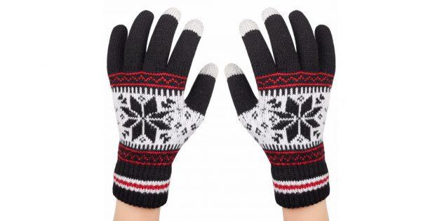 Трикотажные перчатки
