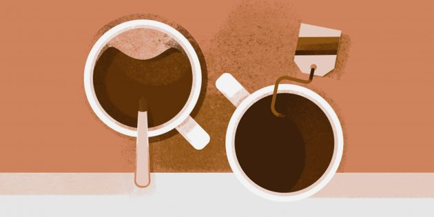Где больше кофеина: в кофе или в чае