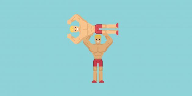 Как накачать мышцы, тренируясь с собственным весом