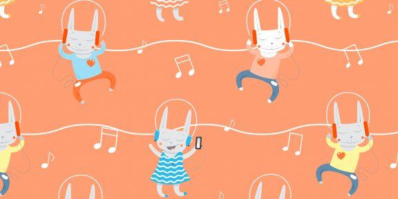 Музыка для детей: плейлисты и полезные приложения