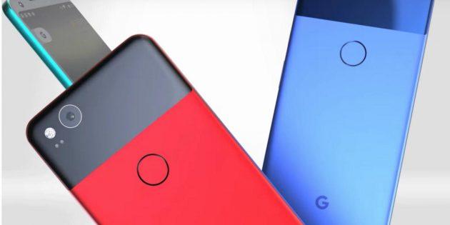 Новые смартфоны Pixel