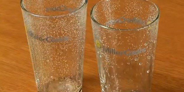 пивной стакан: стакан и соль