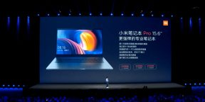 Xiaomi представила ноутбук Mi Notebook Pro, а также смартфоны Mi MIX 2 и Mi Note 3