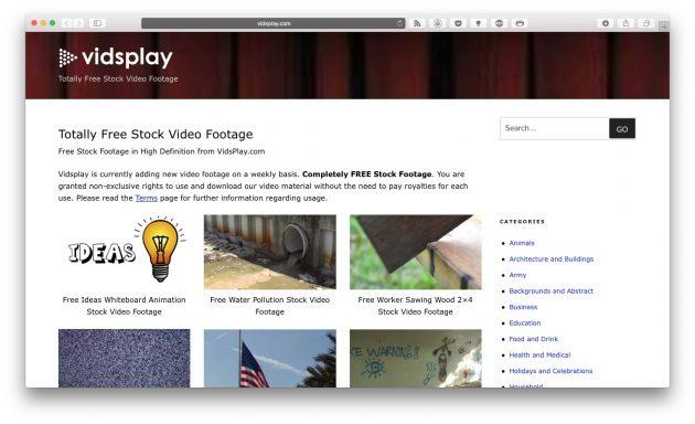 стоковые видео: VidsPlay