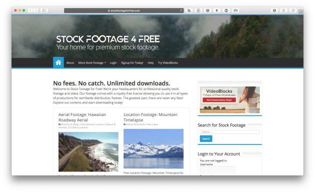 стоковые видео: Stock Footage for Free