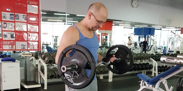 Александр Орлов: физическая активность