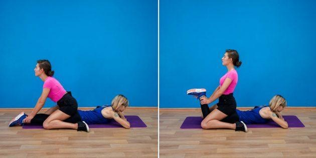 Тренировки в парах: упражнения с весом без спортзала