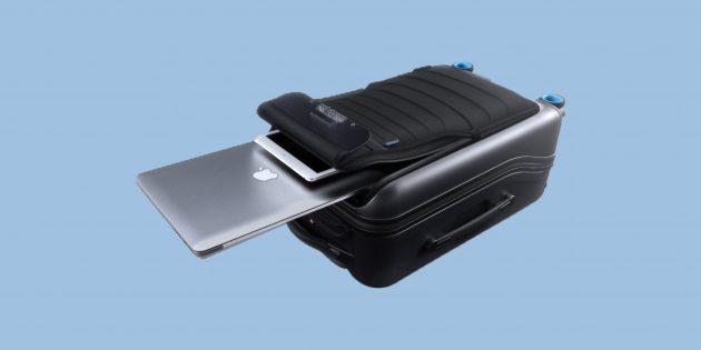 Умный чемодан Bluesmart трудно потерять, легко найти и даже можно забыть