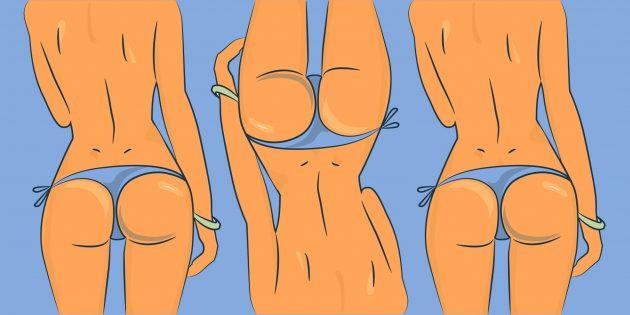 Упражнения, которые прокачивают ягодицы лучше, чем приседания и становая тяга
