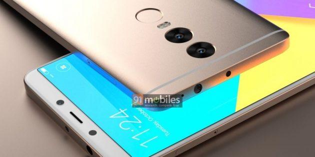 В Сети появились изображения Xiaomi Redmi Note 5