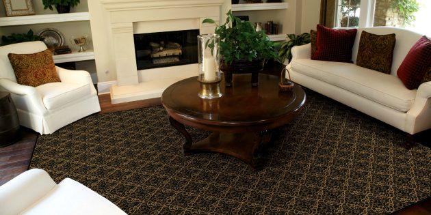 Ошибки в оформлении интерьера: Неправильный ковёр