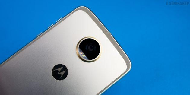 Moto Z2 Play: камера