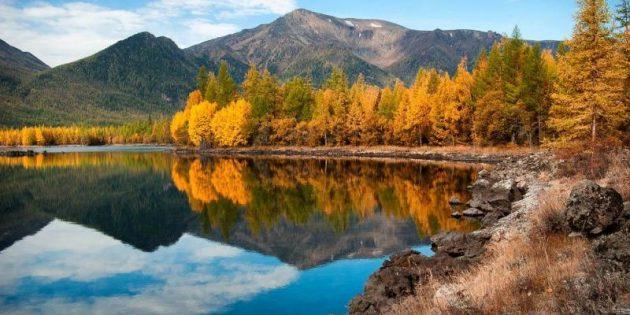 Где отдохнуть в октябре: Байкал, Россия