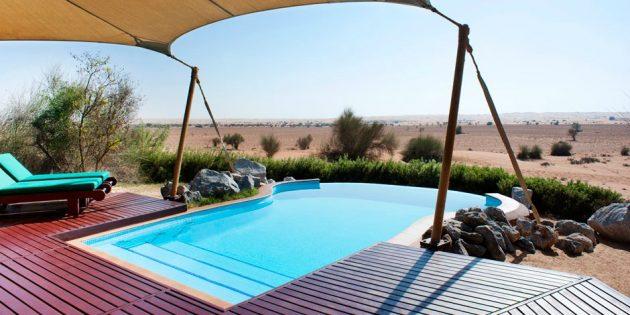 Отель-оазис, Объединённые Арабские Эмираты