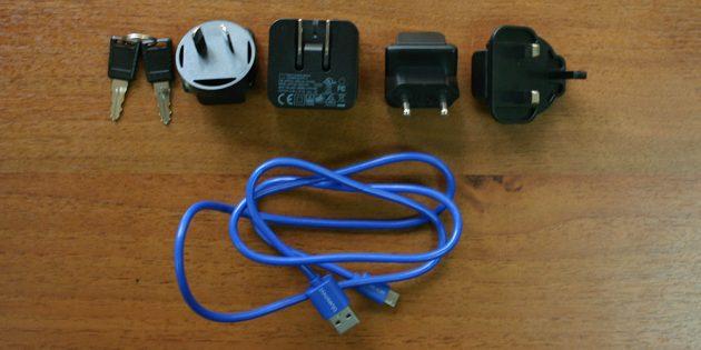 Bluesmart: зарядники