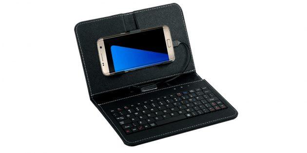 Чехол-клавиатура для смартфона