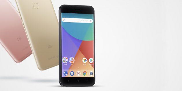 Xiaomi Mi A1: внешний вид