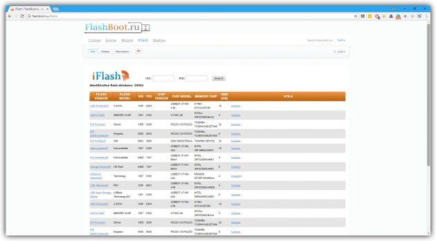 Как восстановить флешку с помощью FlashBoot.ru