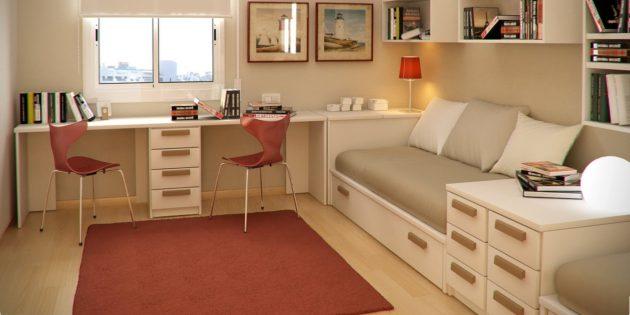 Неправильный дизайн интерьера: Слишком похожая мебель
