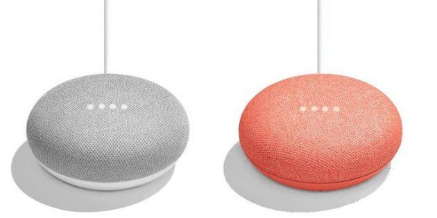 Маленький и большой Google Home