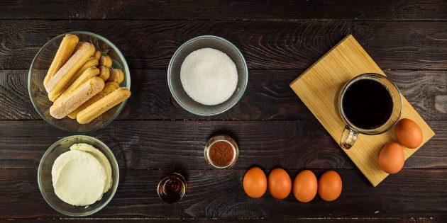 Из чего готовить тирамису в домашних условиях