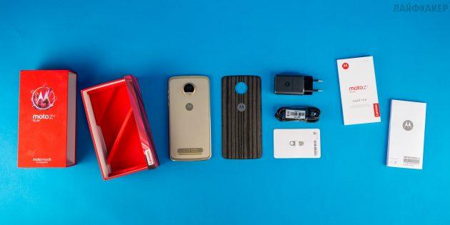 Moto Z2 Play: комплектация