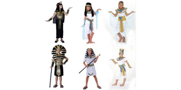 Костюм египтян