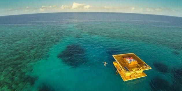 Подводный отель, Танзания