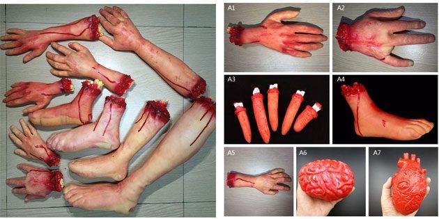 Отрубленные руки и ноги